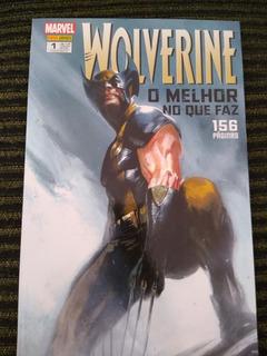 Hq Wolverine O Melhor No Que Faz Vol 1 + Brinde