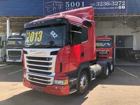 Scania R 440 6x2 Ano 2013