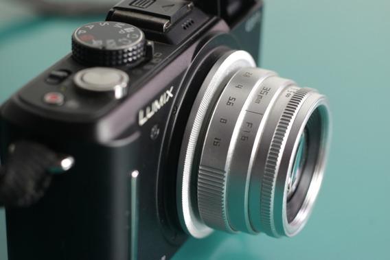 Câmera Panasonic Gf1 + Lente 35mm F/1.6 + Adaptador Micro4/3