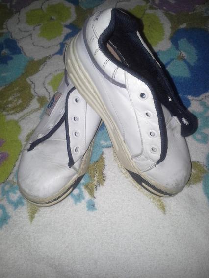 Zapatos Escolares Deportivos Usados En Buen Estado T30 07v