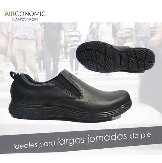 Zapatos Comodos Hombre Airgonomics, Cuero, Alivian Tus Pies!