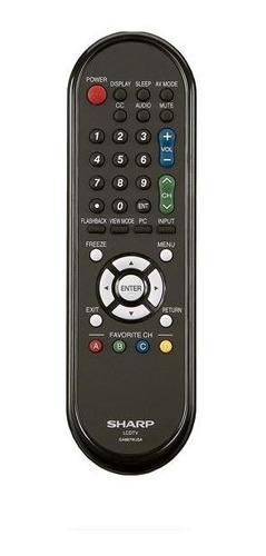 Control Remoto Para Tv Sharp Aquos Ga667wjsa  Original