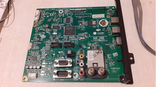 Imagem 1 de 11 de Placa Principal Da Tv LG 55ln549e
