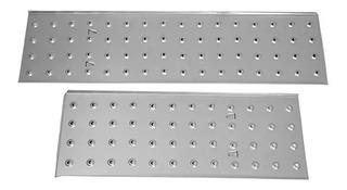 Escada Multifuncional Com 2 Plataformas 4x4, 16 Degraus Mor