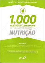 1000 Questoes Comentadas De Provas E Concursos Em Nutriçao