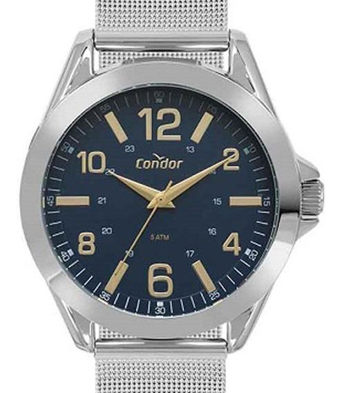 Relógio Unissex Prata Condor - Ref. Co2035fnf/4x