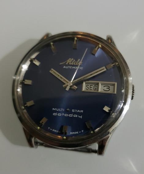 Relógio Antigo Mido Multistar Datoday