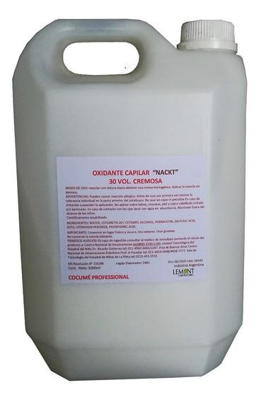 Combo Cremas Oxidantes 10, 20, 30 Y 40 Vol. X 5 Litros