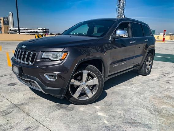 Jeep Grand Cherokee 2016 Limited Lujo V6 Quemacocos Gps