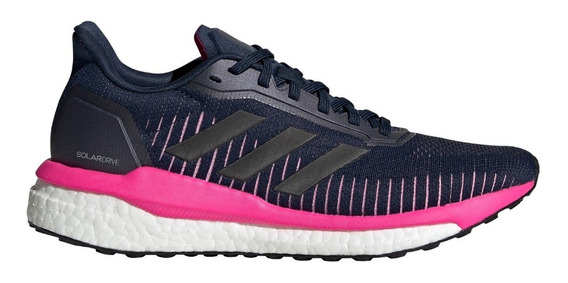 Zapatillas adidas Solar Drive 19 Azu/negra/ros De Mujer