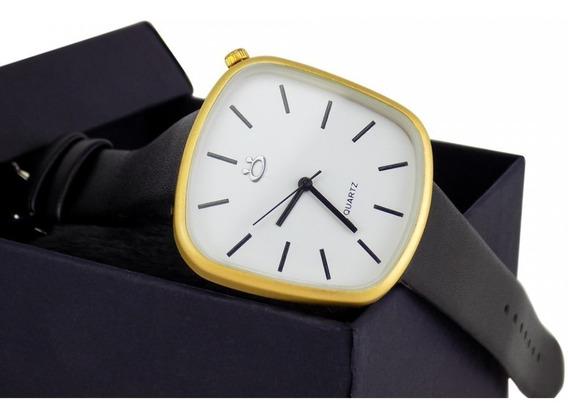 Relógios De Couro Original + Frete Grátis