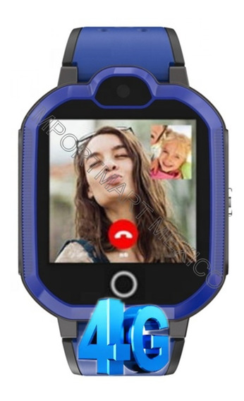 Gps 4g Smartwatch Reloj Localizador Video Llamada Niños Celular