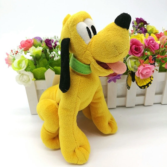 Boneco Pluto De Pelucia 30 Cm