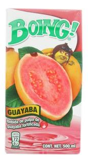 Bebida Boing Pulpa De Guayaba 500 Ml