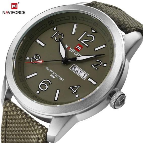 Relógio Naviforce 9101 - Novo Original - Padrão Militar