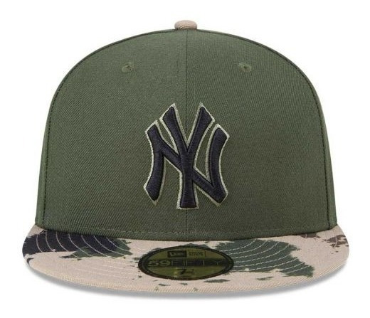Gorra New Era Yankees New York Béisbol Camuflage Militar Hombre