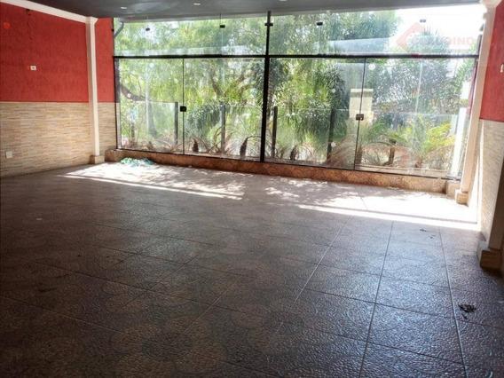 Salão, 180 M² - Venda Por R$ 1.200.000 Ou Aluguel Por R$ 5.000/mês - Tatuapé - São Paulo/sp - Sl0279