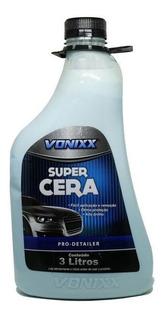 Super Cera Liquida Automotiva Azul Galao 3 Litros Vonixx