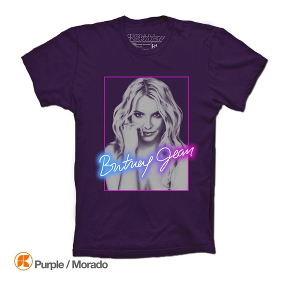 Britney Spears Playeras Britney Jean Face