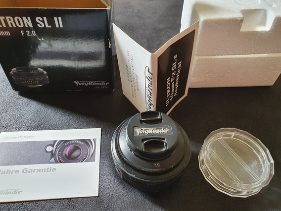 Voigtlander Ultron 40mm F/2.0 Sl Ii P/ Nikon