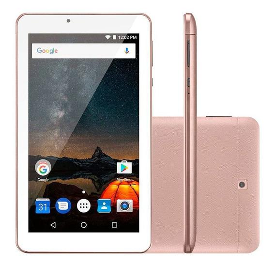 Tablet Multilaser M7s Plus Nb275 Tela 7.0 8gb Quad Core Wifi