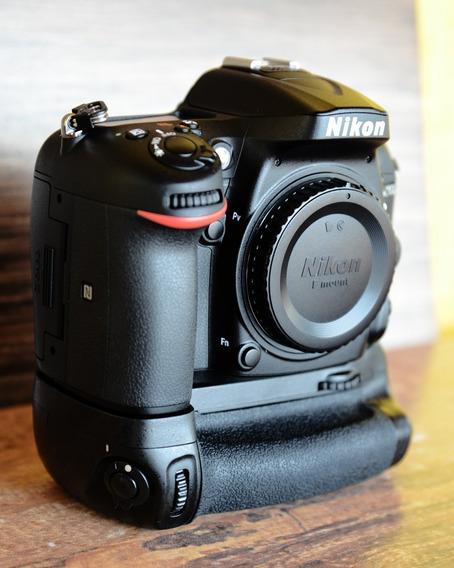 Câmera Nikon D7200 Somente Corpo + Battery Grip