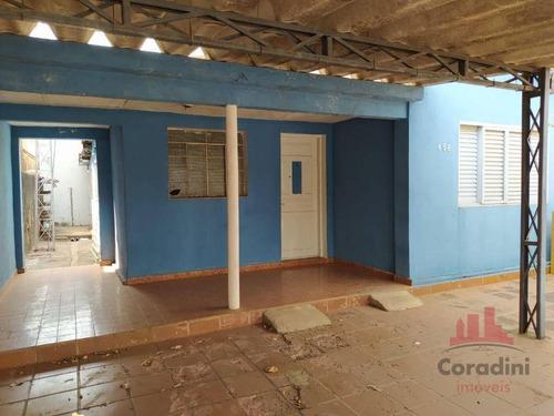 Imagem 1 de 19 de Casa Com 2 Dormitórios À Venda, 250 M² Por R$ 300.000,00 - Vila Margarida - Americana/sp - Ca2676