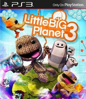Little Big Planet 3 - Ps3 - Digital - Español