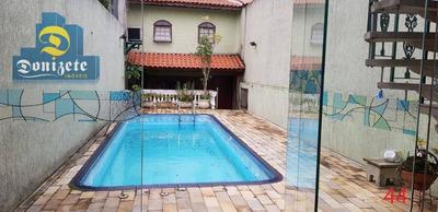 Sobrado Residencial À Venda, Santa Maria, Santo André - So2107. - So2107