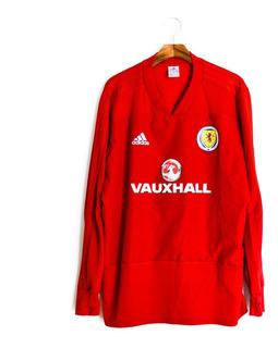 Camisa De Futebol Masculino Escócia 2017/18 Treino adidas