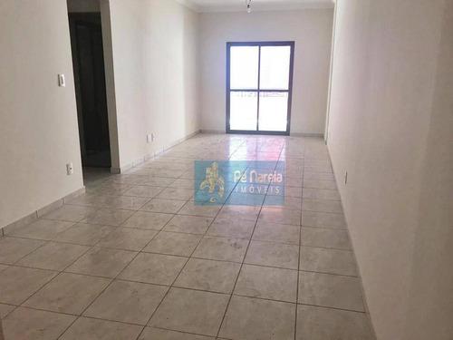 Imagem 1 de 10 de Apartamento Com 2 Dormitórios, 1 Suíte, 1 Vaga, À Venda, 104 M² Por R$ 330.000 - Canto Do Forte - Praia Grande/sp - T2f104a - Ap0088