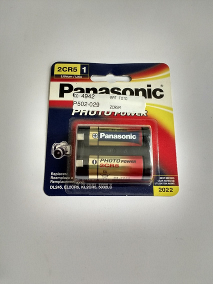 Bateria Camera Foto 2cr5m B2cr5p 6v Lithium Co.4942