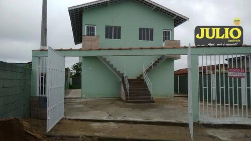 Imagem 1 de 10 de Casa Com 1 Dormitório À Venda, 49 M² Por R$ 120.000,00 - Jd Nossa Senhora Do Sion - Itanhaém/sp - Ca2512