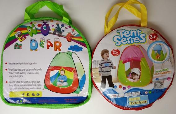 Barraca Tenda Infantil Toquinha Organizadora De Brinquedos