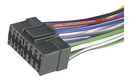 Chicote Conector Plug Som Automotivo Rádio Cd Sony Jvc Aiwa