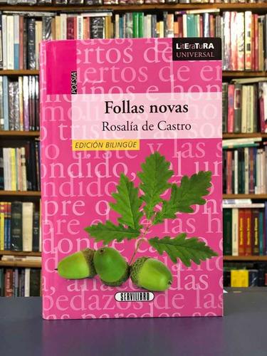 Follas Novas - Rosalía De Castro - Servilibro - Bilingüe