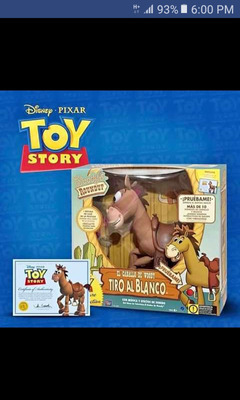 Juguetes Originales De Toy Story Con Certificación Tiro Al B