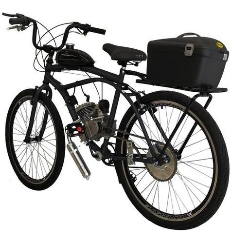 Bicicleta Motorizada Suspensão E Freio A Disco