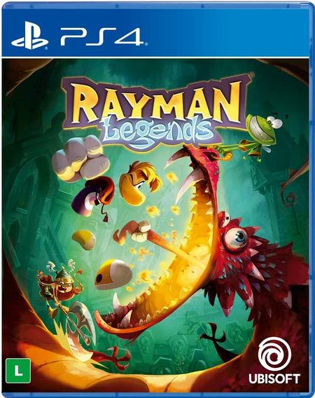 Rayman Legends - Ps4 - Mídia Física Novo Lacrado