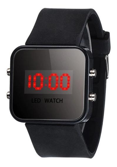 Relógio Led Digital Pulso Masculino Feminino Unissex Barato