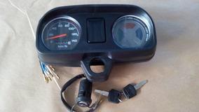 Painel + Chave De Ignição Honda Cg Titan 125 91 Até 1999