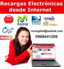 Recargas Electrónicas , Pagos Servicios