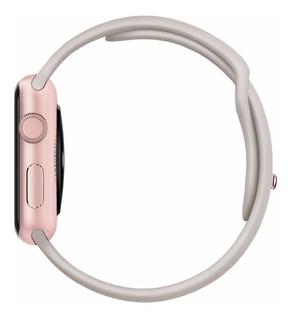 Apple Watch Sport 42mm Rose Gold Aluminum Case Banda Sport