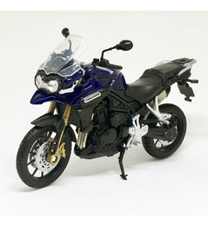 Miniatura Moto Triumph Tiger Explorer 1:18 Welly 060437