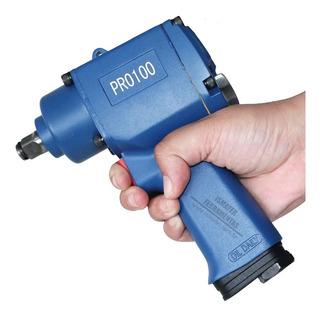 Chave De Impacto Pneumática Mini 1/2 55kgfm Pro-100 Ldr-pro