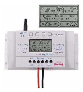 Controlador De Carga Solar 40a Mppt 12/24v T40 ( Off Grid )