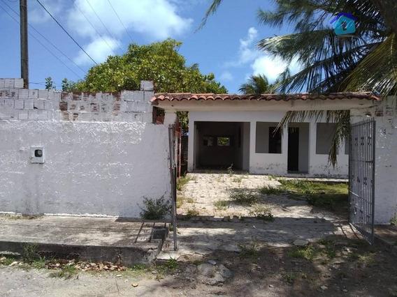 Casa Com 3 Dormitórios À Venda, 100 M² Por R$ - Praia Do Amor - Conde/pb - Ca0441