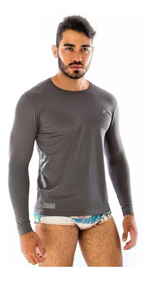 Camiseta Proteção Solar Uv 50 Corrida Natação / Unissex