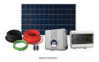 Kit Sistema De Energia Solar Com 6 Placa 340w Kit 2,0 Elgin