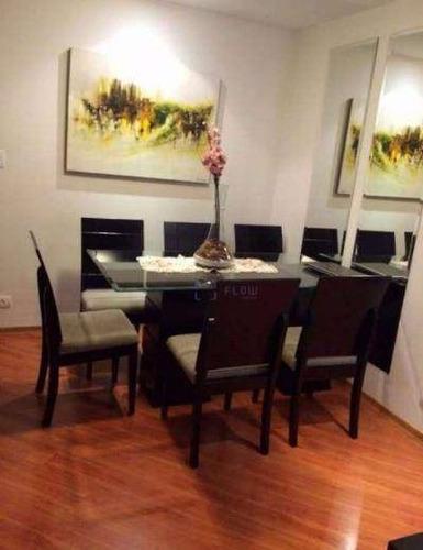 Apartamento 70m², 3 Dormitorios, 1 Suíte, 1 Vagas - Jardim Oriental - Ap10379